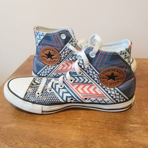 Converse Chuck Taylor High Top 80's Print Sneakers